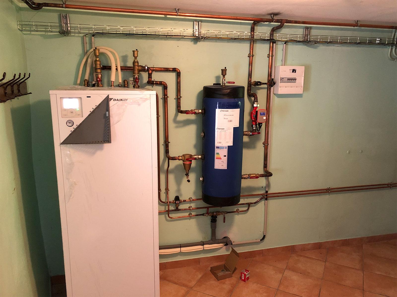 Maîtrise des énergies Maison individuelle
